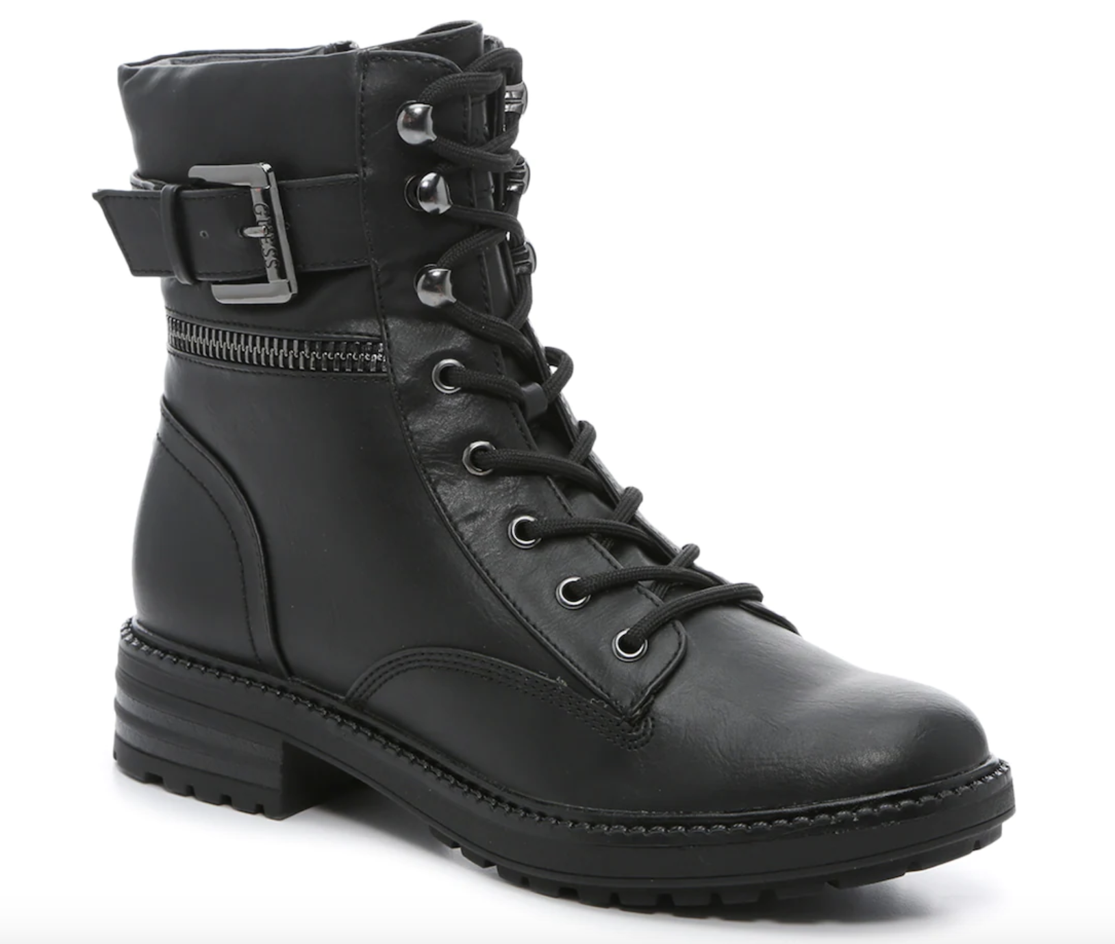 Guess, lug-sole boots