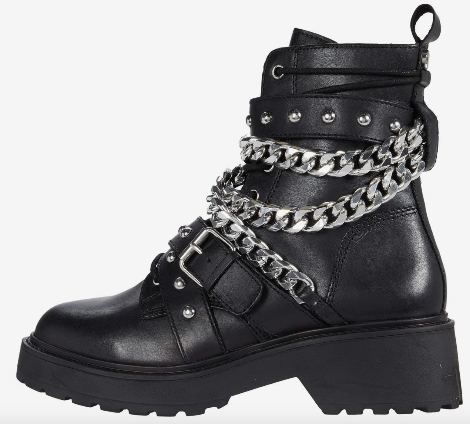 Steve Madden, lug-sole boots
