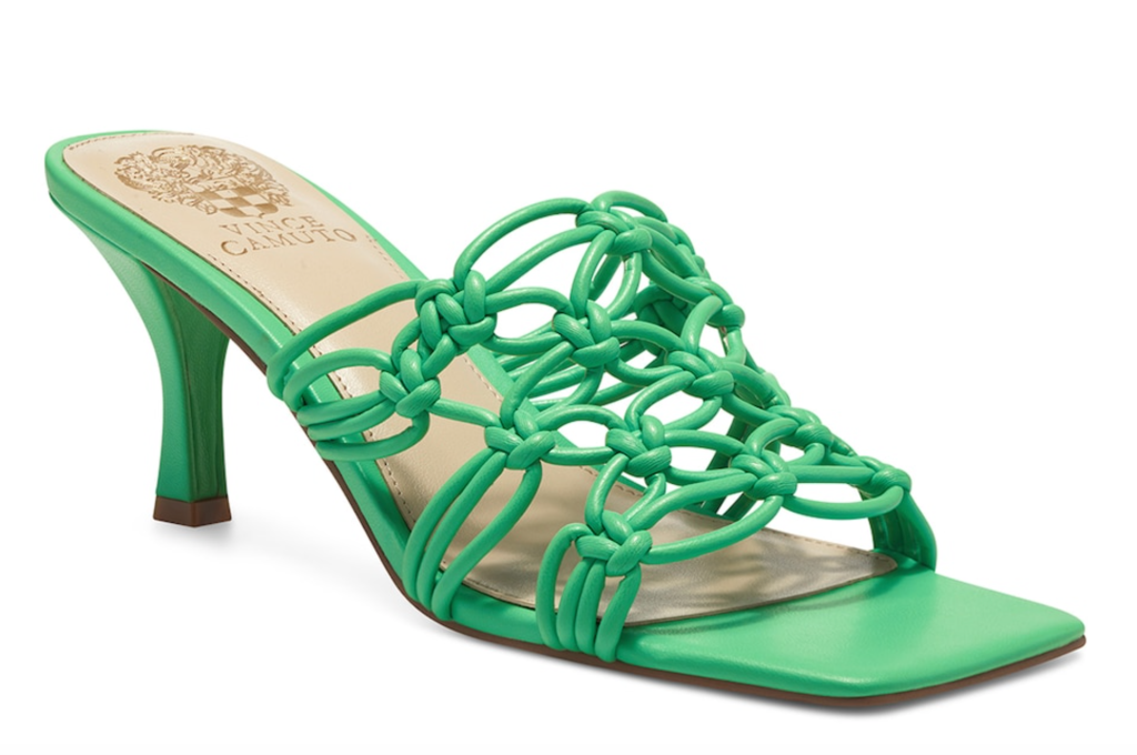 Vince Camuto, sandals, green sandals