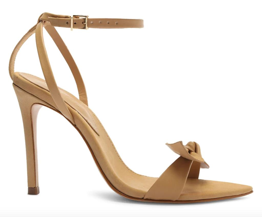 Schutz, sandals, suede sandals, brown sandals, elora