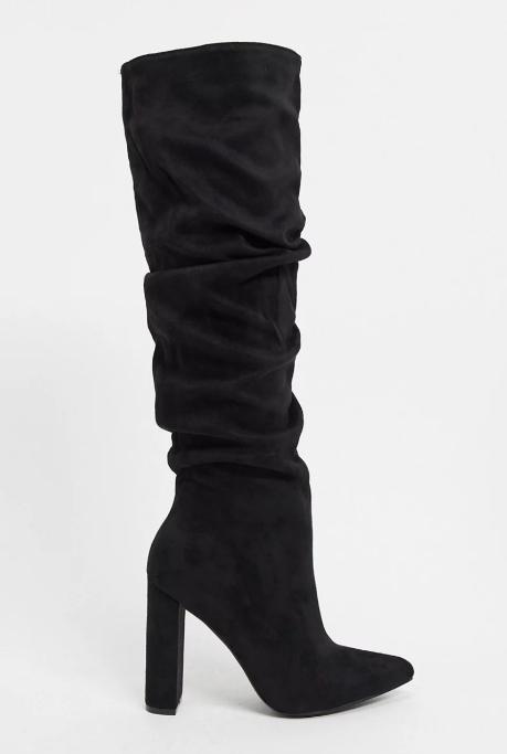 Z_Code_Z Exclusive Vanda vegan-friendly slouch knee boots