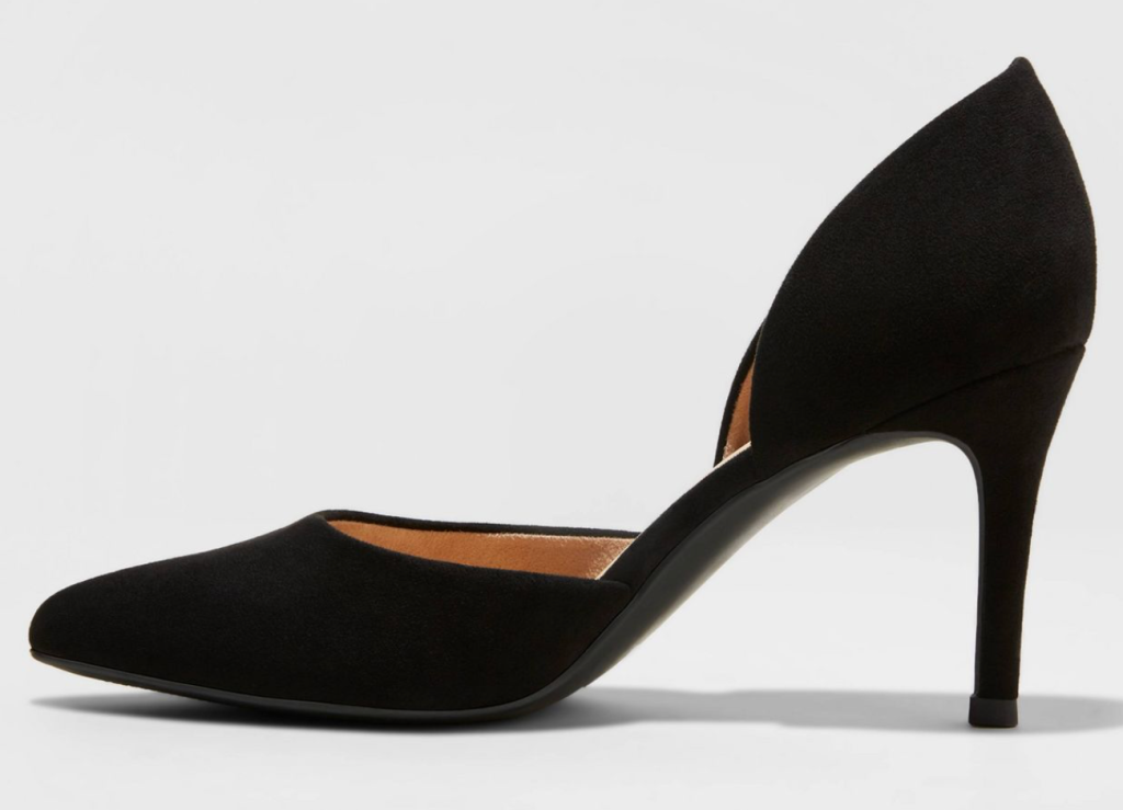 Target, A New Day, black pumps, pointed-toe pumps, D'Orsay pumps