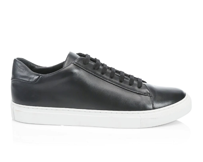 Saks Fifth Ave Leather Sneakers