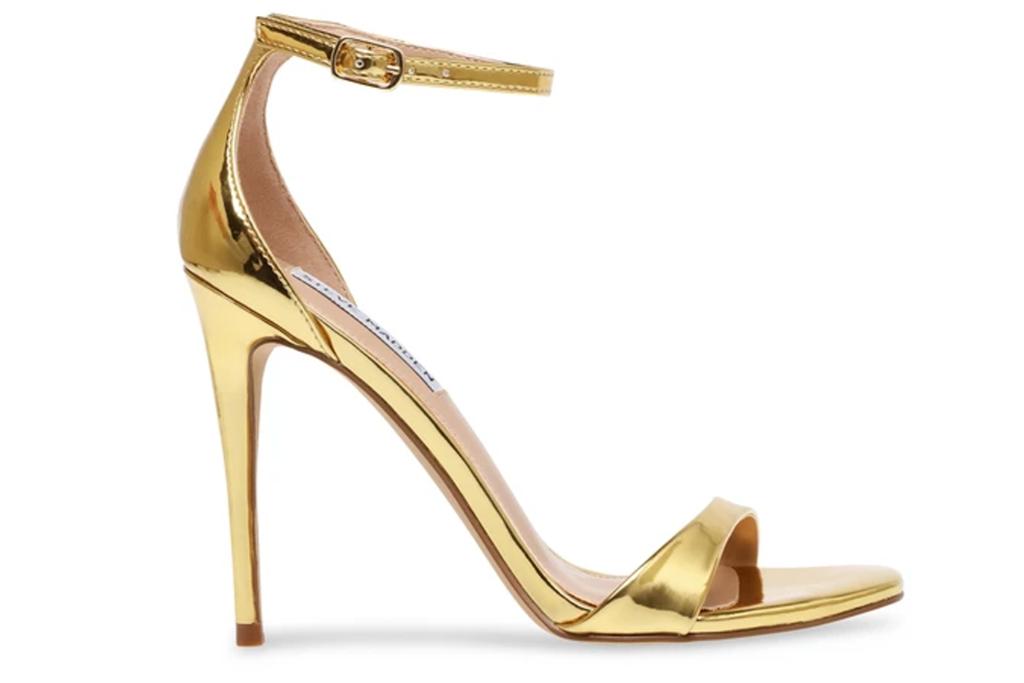 Steve Madden Kassandra Gold Sandals