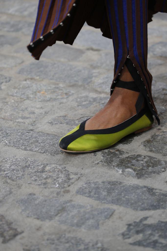 spring 2022, tory burch, tory burch shoes, tory burch ballet flat, nyfw, new york fashion week