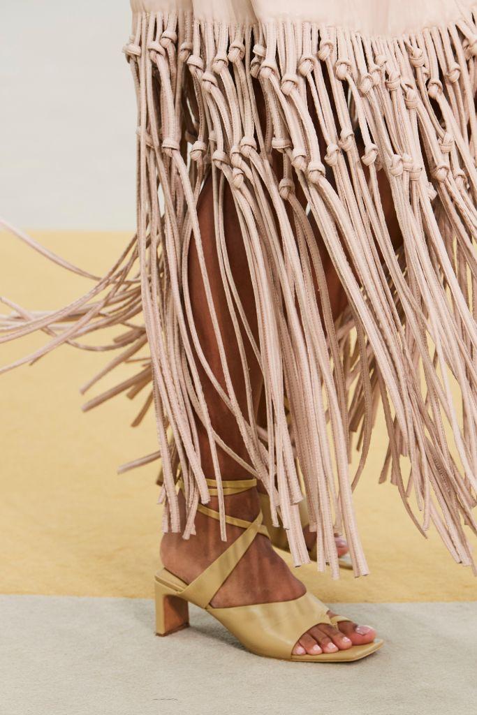 jonathan simkhai, spring 2022, nyfw, new york fashion week, fashion, shoes