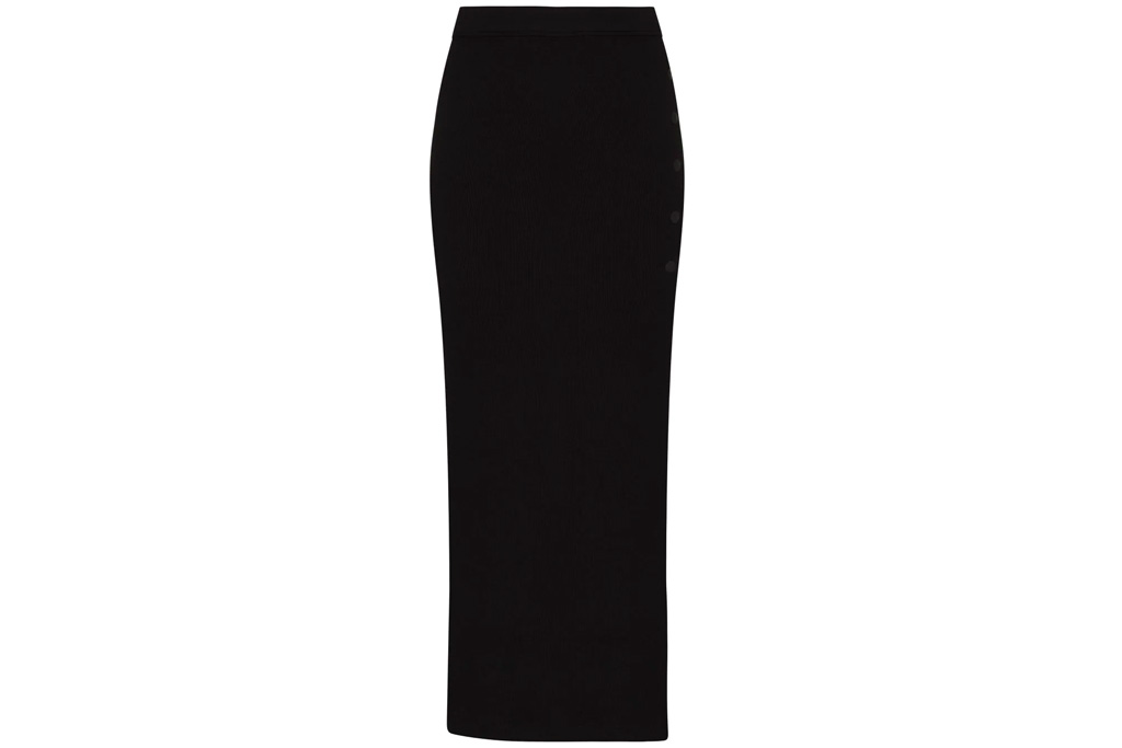 alix nyc, skirt, black