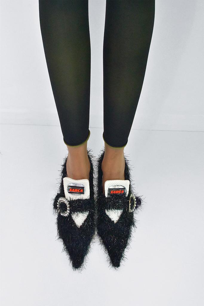 fn emerging talent, footwear news emerging talent, emerging talent, emerging designers, fashion designers, footwear designers, up and coming shoe designers, emerging shoe designers, fashion, shoes, design, mach & mach, gia borghini, iindaco, titi adesa, ancuta sarca