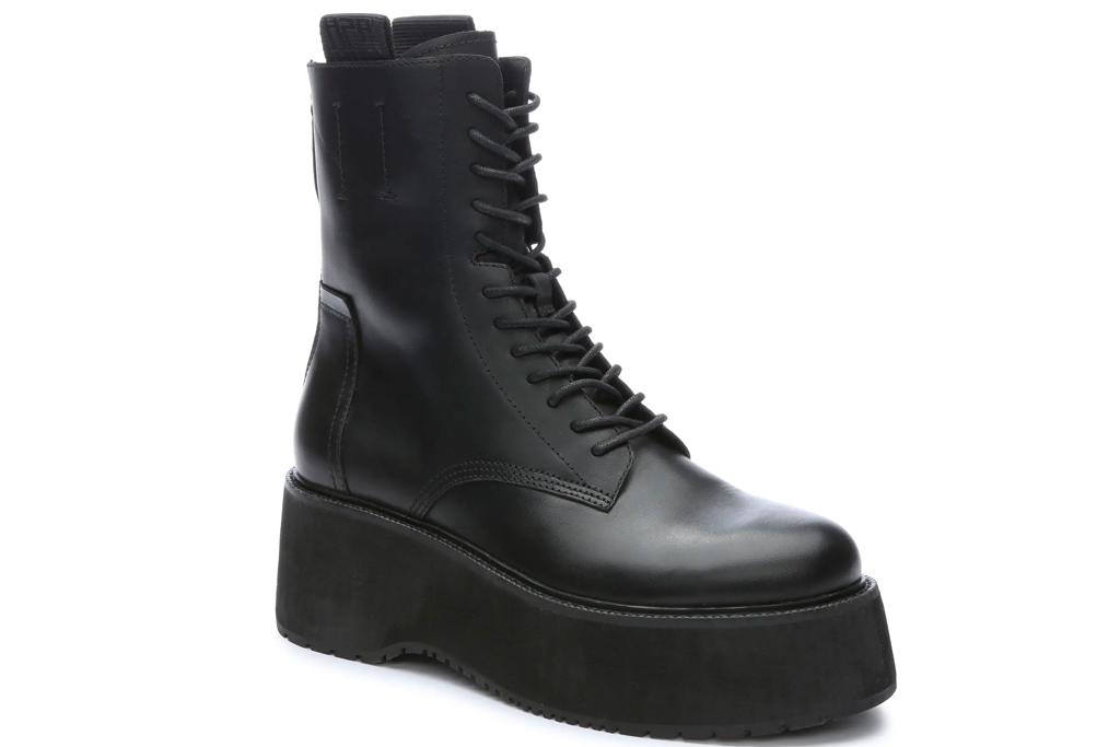 black boots, platform, combat boots, ash