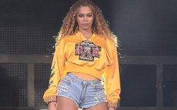 Beyonce performs at the 2018 Coachella