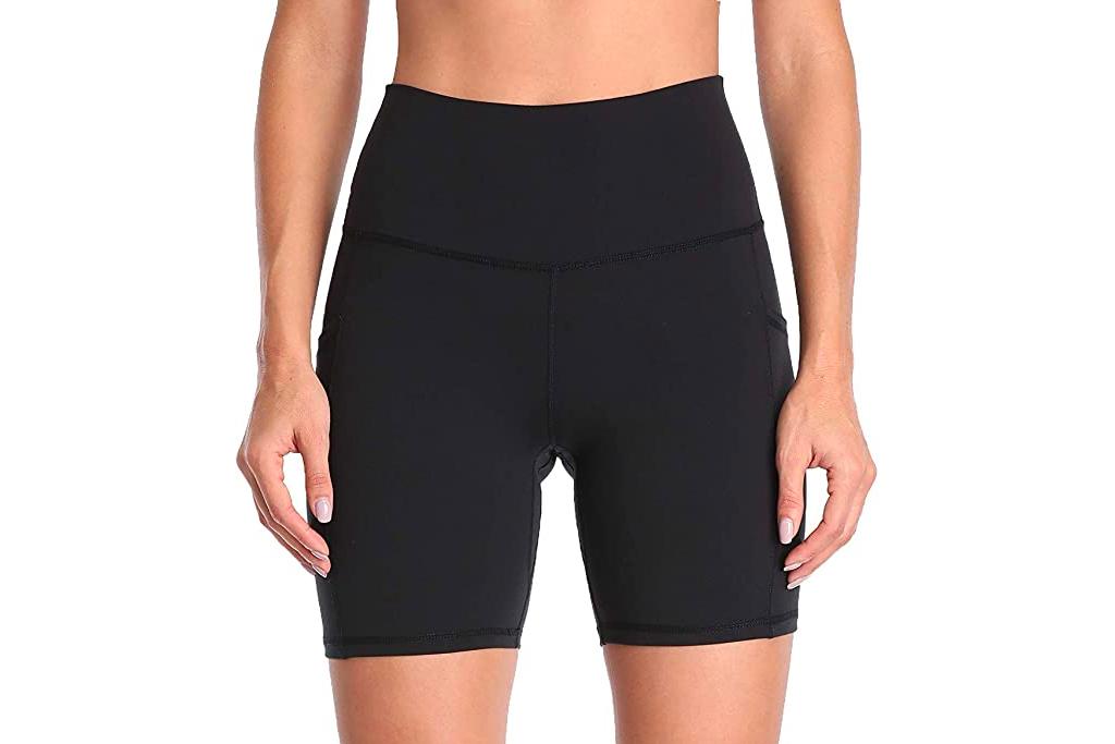 black biker shorts, amazon
