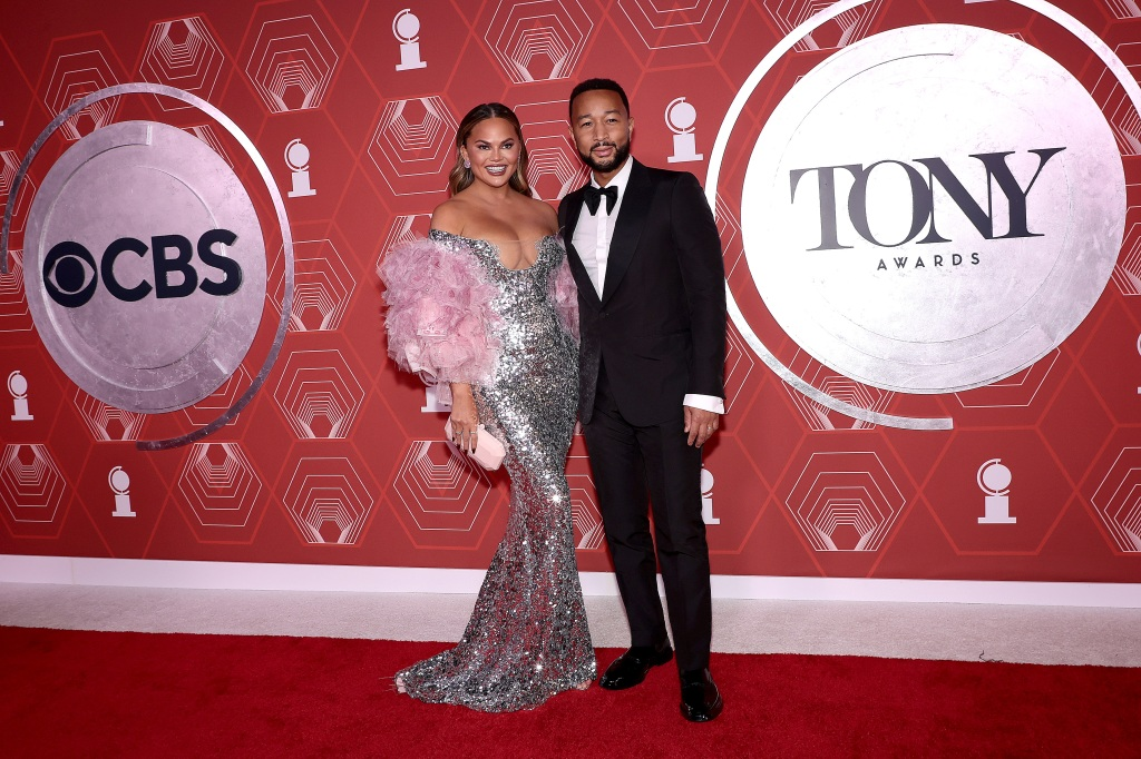 Chrissy Teigen, John Legend, Tony Awards, Broadway