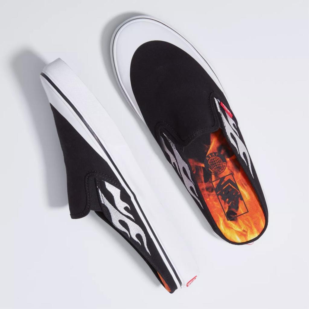 ASAP Rocky x Vans Slip-On Mule