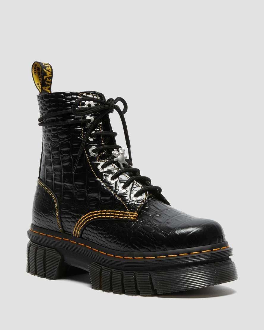Dr. Martens, Audrick 8i HMJ Croc boot, heaven by marc jacobs