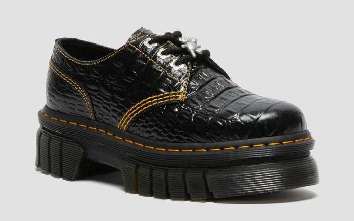 Dr. Martens x Heaven by Marc Jacobs Audrick 3i HMJ Croc shoe