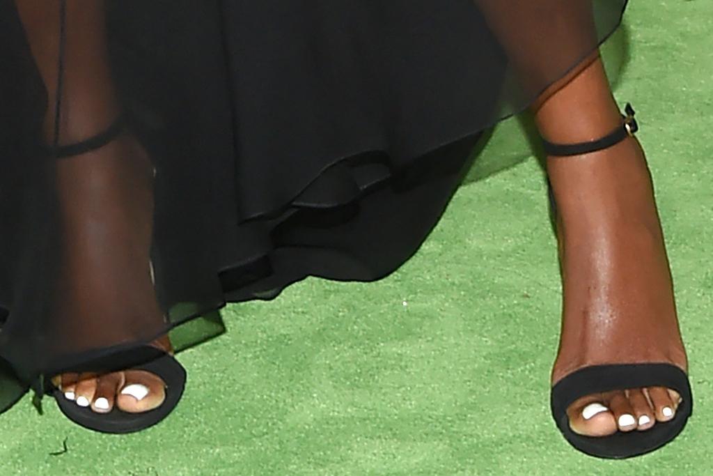 gabrielle union, sheer dress, gown, heels, sandals, black dress, dwyane wade, heels, gala, la