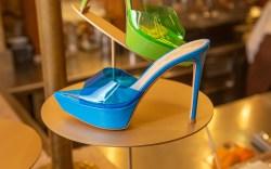 Gianvito Rossi, plexi platform sandal
