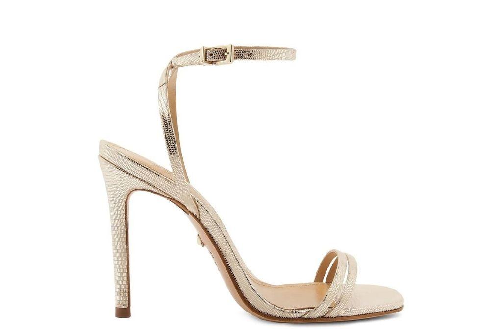 Schutz, gold sandals