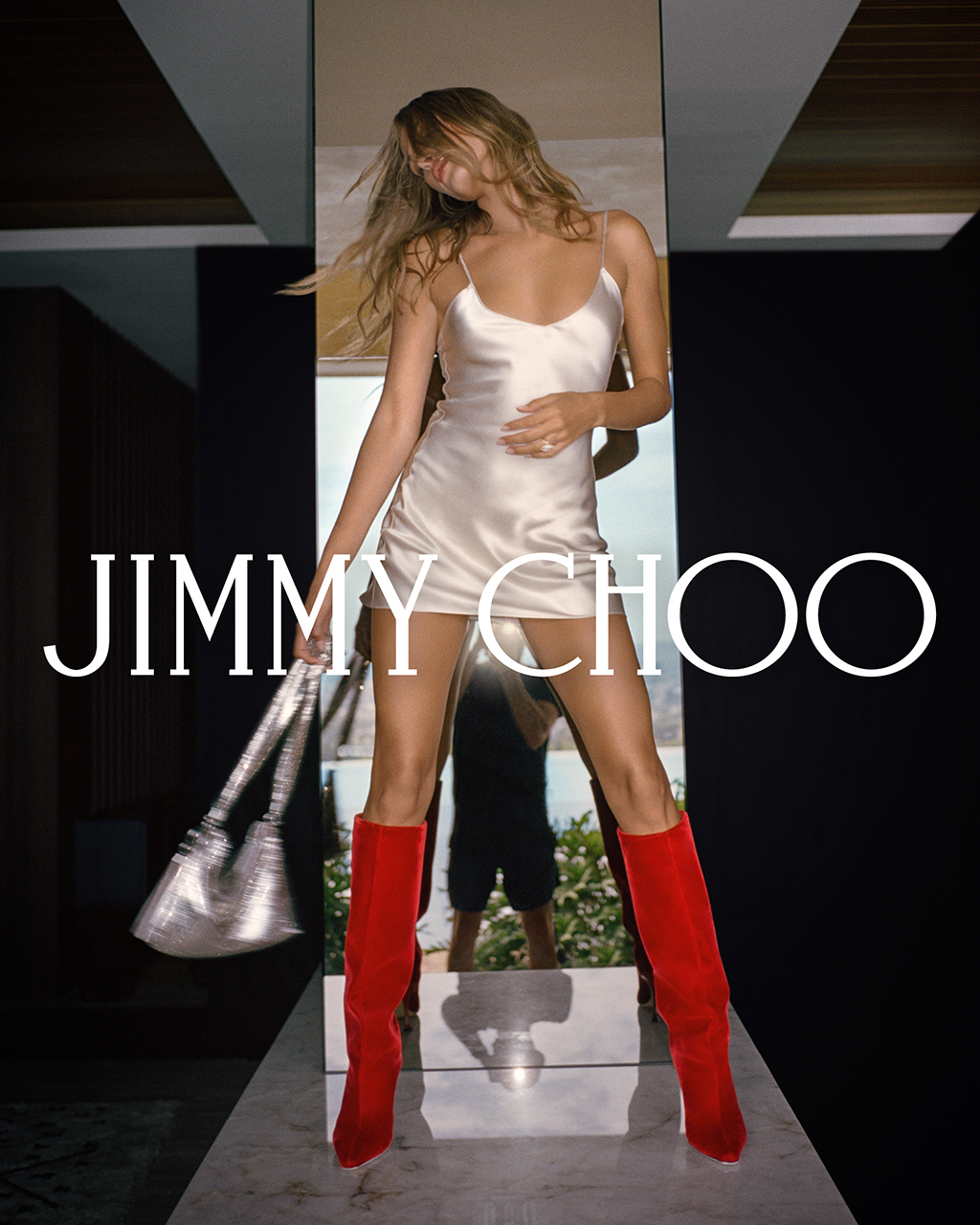 Hailey Bieber, jimmy choo, fall 2020, campaign