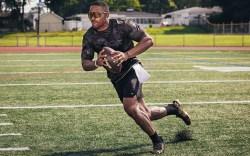 NFL quarterback Jalen Hurts Eastbay Performance