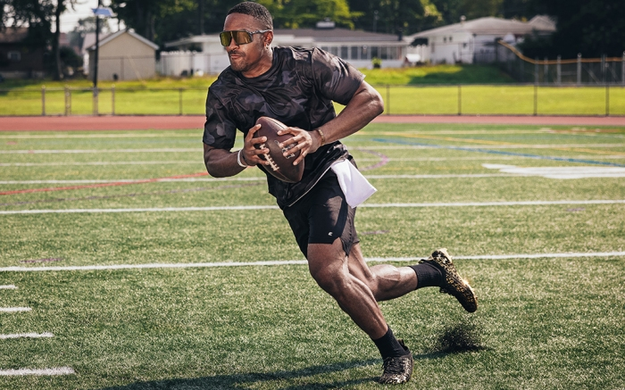 NFL quarterback Jalen Hurts Eastbay Performance apparel