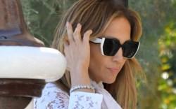 Jennifer Lopez arrives in Venice for