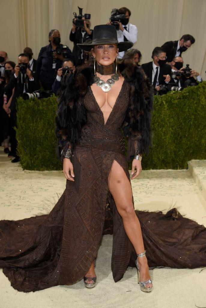 met gala, 2021, red carpet, celebrity style, jennifer lopez, heels