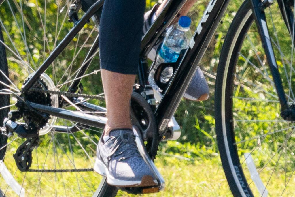 jill biden,, sneakers, leggings, t-shirt, joe biden, bike ride, delaware
