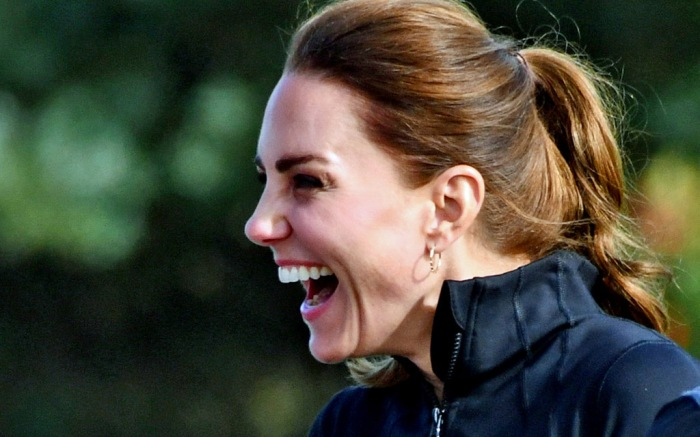 *NO UK & IRELAND* Duke And Duchess Of Cambridge Having A Fun Sports Day During Royal Visit To City Of Derry Rugby Football Club