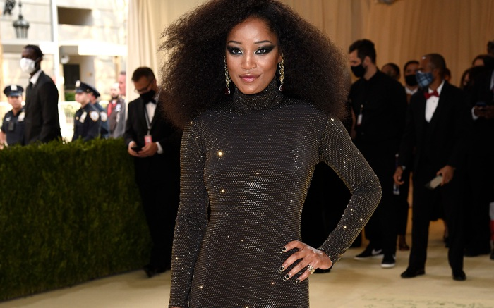 """Keke Palmer attends The Metropolitan Museum of Art's Costume Institute benefit gala celebrating the opening of the """"In America: A Lexicon of Fashion"""" exhibition on Monday, Sept. 13, 2021, in New York. (Photo by Evan Agostini/Invision/AP)"""