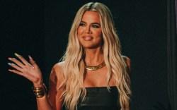 khloe kardashian, strapless dress, tube dress,