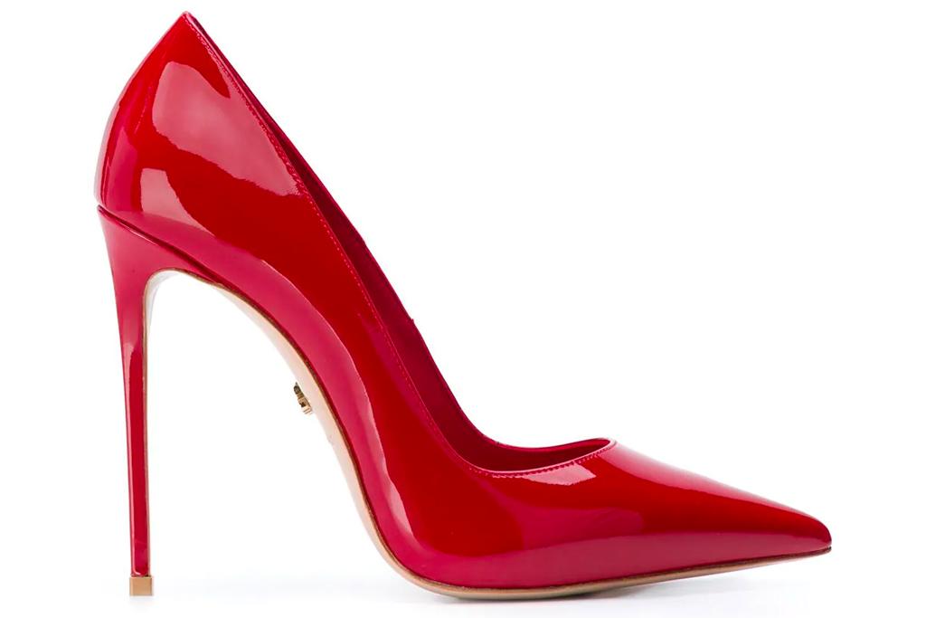 le silla, pumps, red, heels
