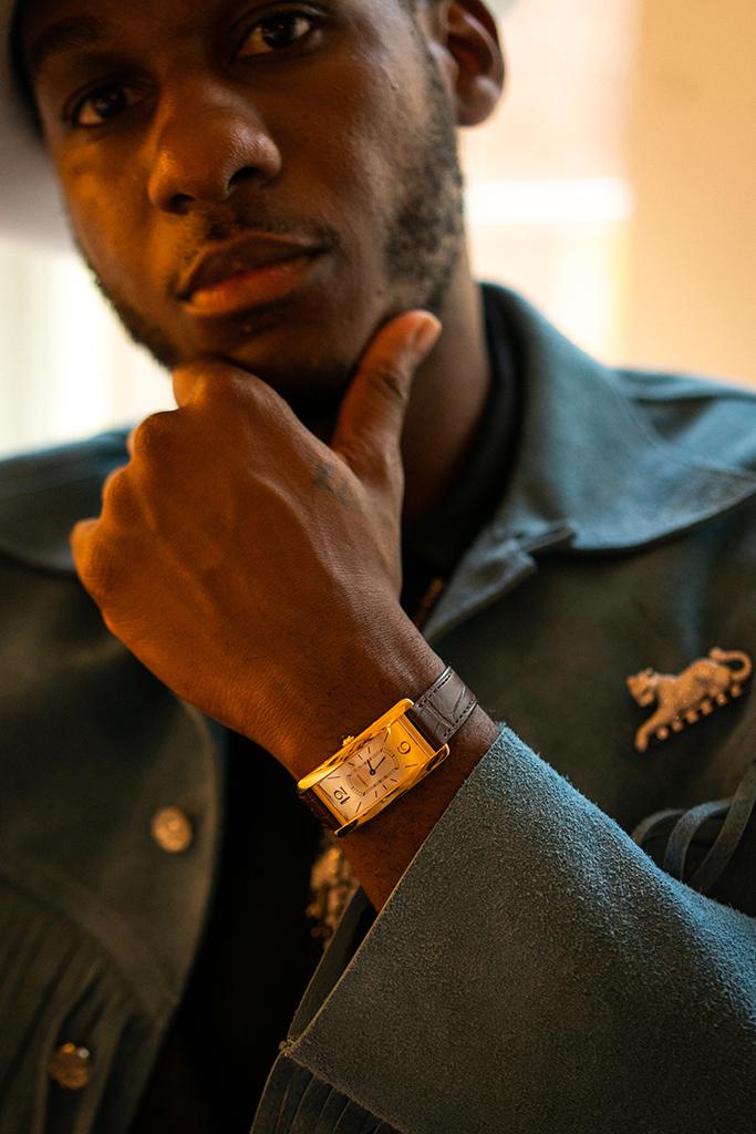 Leon Bridges Cartier jewelry watch