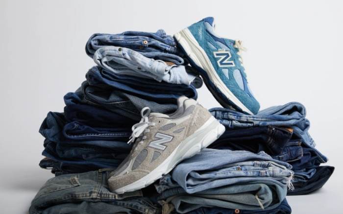 Levis, New Balance, collaboration, 990v3, sneakers