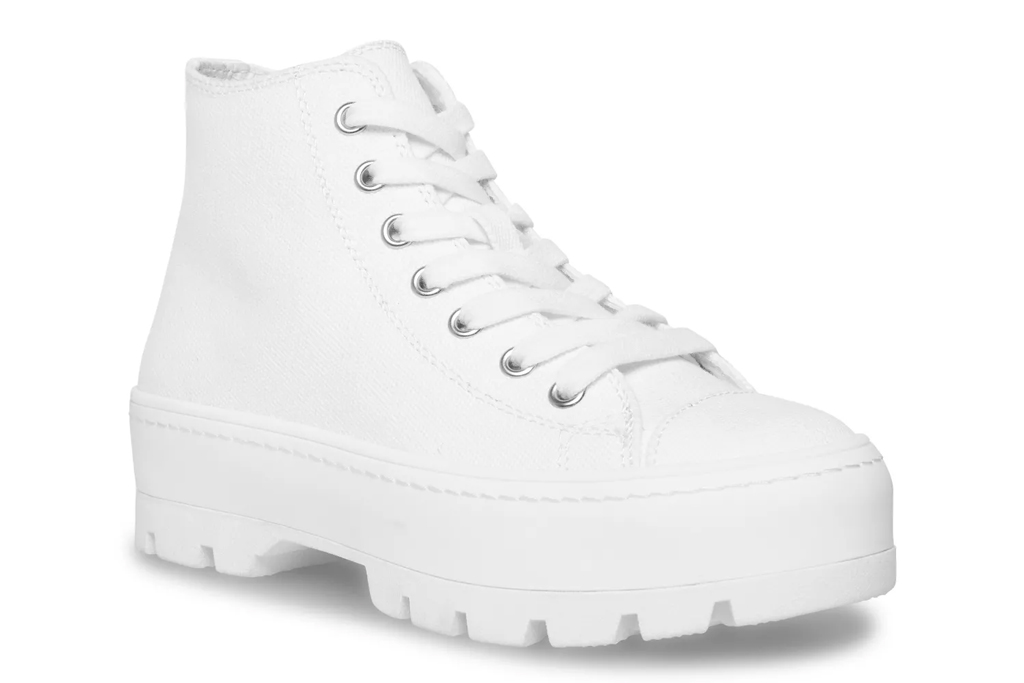 chunky sneakers, white sneakers, madden girl, target