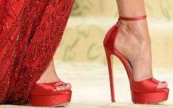 megan fox, platforms, heels, met gala,