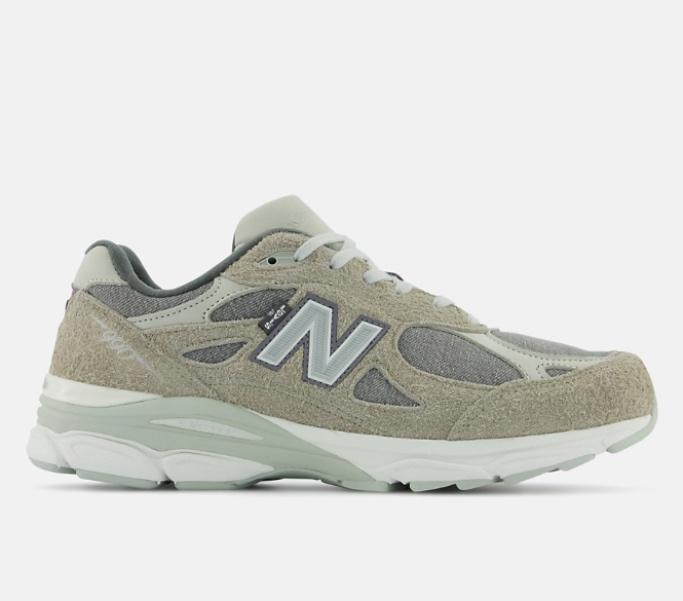 New Balance, Levi's, collab, 990v3, grey