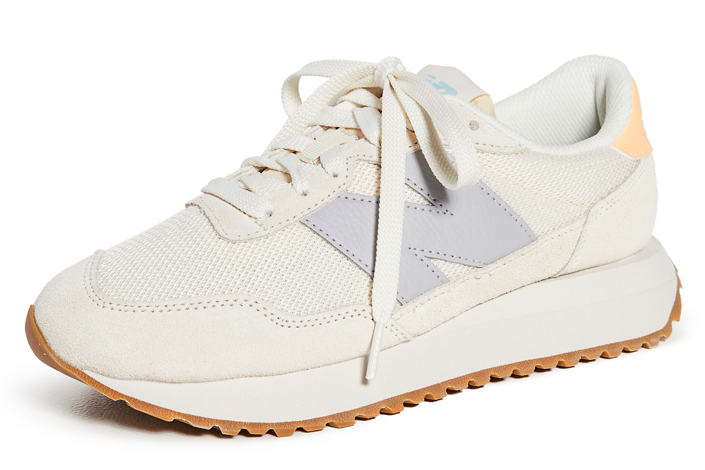 sneakers, blue, white, new balance