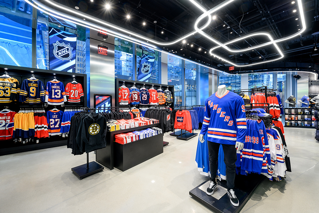 NHL Shop New York City NYC
