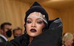 Rihanna attends The Metropolitan Museum of