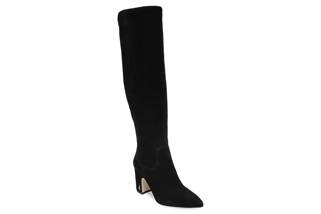 black boots, knee high, sam edelman
