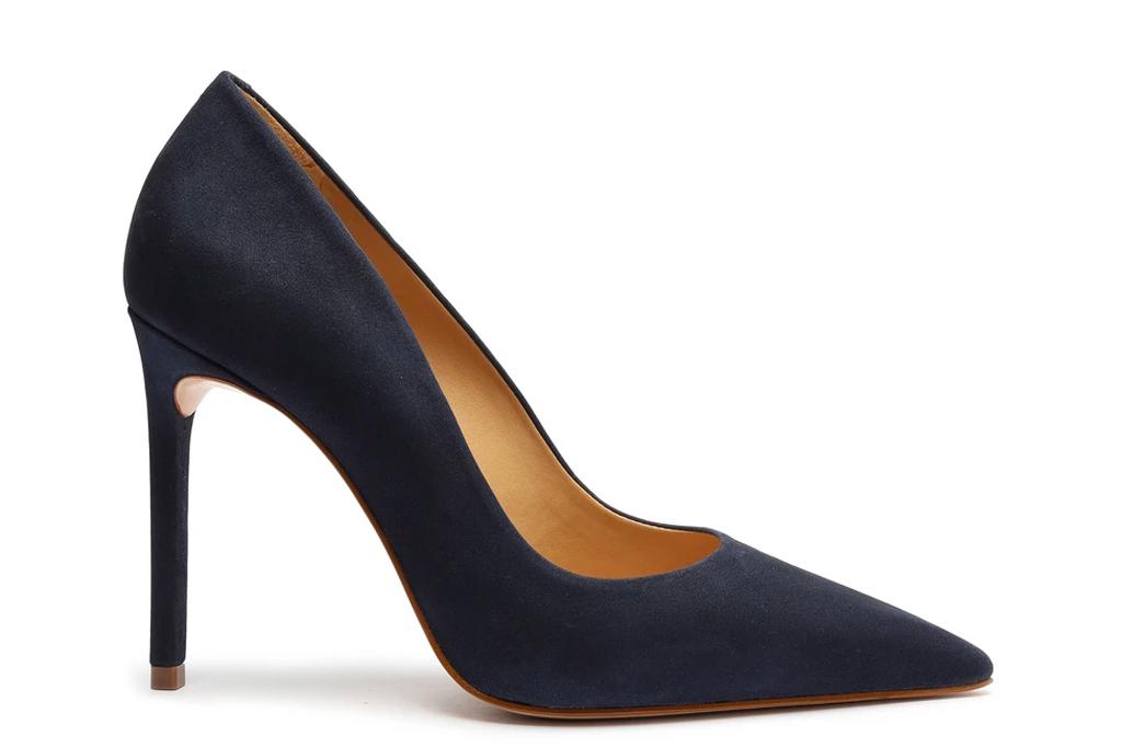navy pumps, heels, schutz