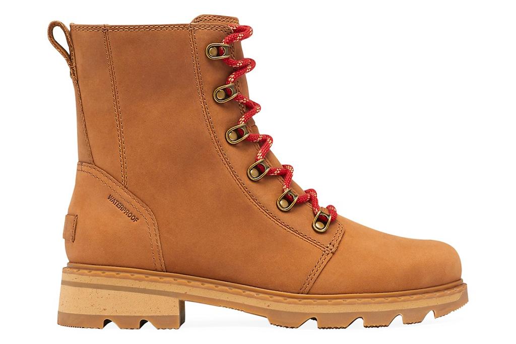 work boots, brown, sorel