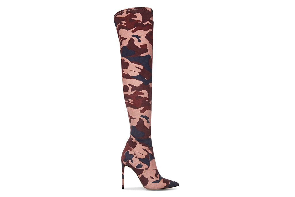 camo boots, steve madden