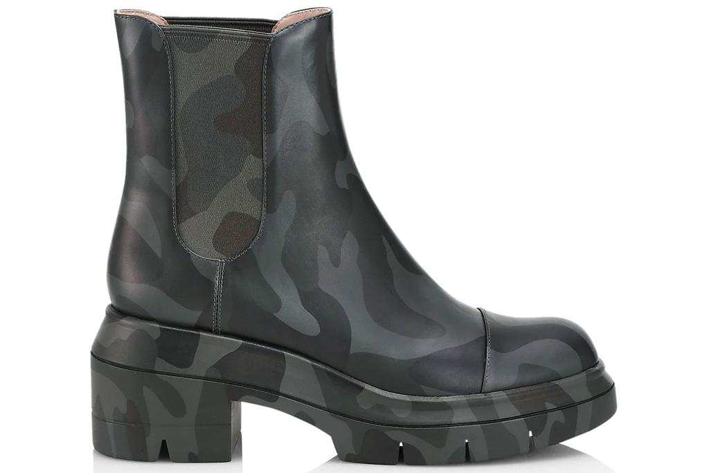 camo boots, stuart weitzman