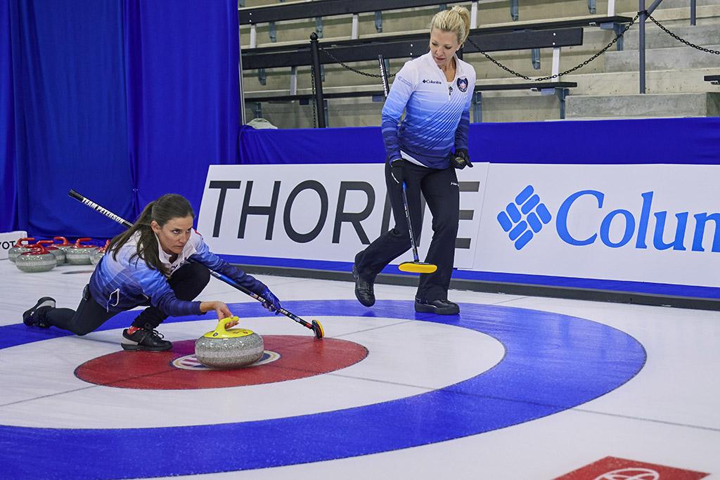 USA Curling Tara Peterson Nina Roth Columbia