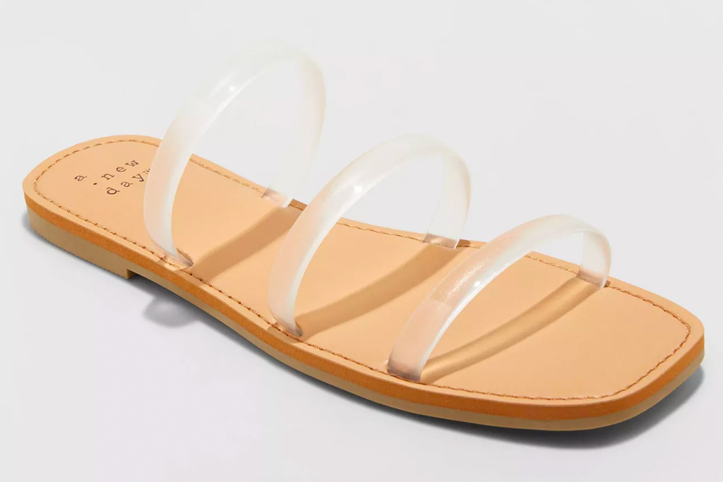 target, pvc heels, sandals