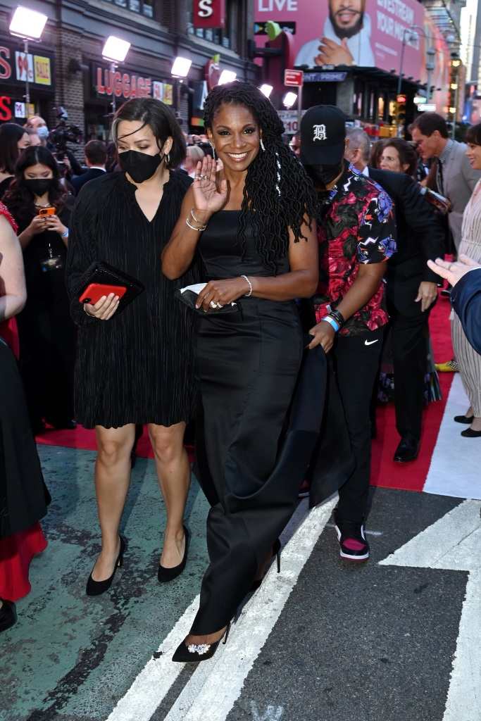 NEW YORK, NEW YORK - SEPTEMBER 26: Audra McDonald attends the 74th Annual Tony Awards at Winter Garden Theater on September 26, 2021 in New York City. (Photo by Bryan Bedder/Getty Images for Tony Awards Productions)
