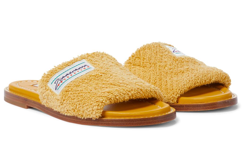 yellow slides, fuzzy, zimmermann