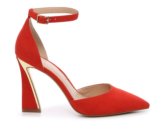 Red Gannon Pump by J.Lo